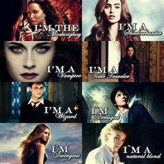 Harry potter, The Mortal Instruments ,Percy Jackson ,The Hunger Games, Divergent The Mortal Instruments, Book Memes, Book Quotes, Percy Jackson, I Love Books, Good Books, Clary Und Jace, Citations Film, Fandom Quotes