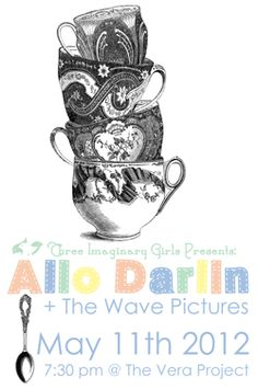 TIG presents Allo Darlin' + the Wave Pictures: Playing at The Vera Project in May!