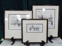 Collection of Framed London Prints