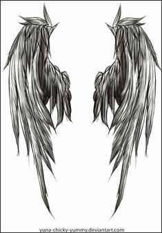 Angel and Demon Wing Tattoos Jsavu Lovely Pin by Romain Quennehen On Beau Pinterest