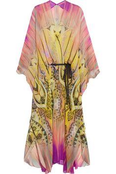 Etro | Printed silk kimono | NET-A-PORTER.COM