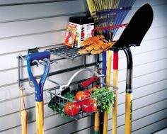 5 Tips For Organizing and Keeping Track of your Garden Tools. Late winter and early spring is the perfect time to think about all of the important tasks that need to be done before the gardening season gets started. While it is too early to even consider planting anything, it is not too early to get all of your tools organized and do any maintenance on them they might need. #gardentools #gardening