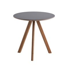 Copenhague CPH20 round table, 50 cm, by Hay. Design by Ronan & Erwan Bouroullec.
