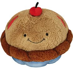 Squishable Cherry Pie! A cuddly plush pastry to hug! #squishable #pie #plush