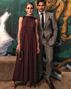 Olivia Palermo and Johannes Huebl at Valentino Dinner in Paris Estilo Olivia Palermo, Olivia Palermo Lookbook, Olivia Palermo Style, Fashion Couple, Love Fashion, Girl Fashion, Dinner In Paris, Stylish Couple, Evening Outfits