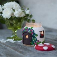 Candela, casetta o fungo? L'idea per un regalo!