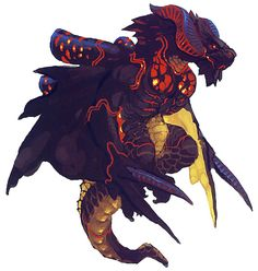 Chetyre Dragon from Breath of Fire V