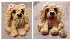 Stella the Cocker Spaniel Dog PDF Crochet Pattern