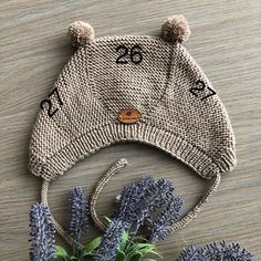Image may contain: hat Baby Knitting Patterns, Knitting Blogs, Knitting For Kids, Free Knitting, Knitting Projects, Crochet Patterns, Crochet Bebe, Knit Crochet, Crochet Hats