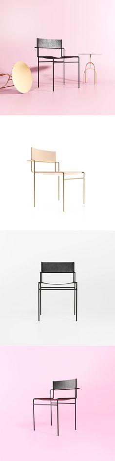 Tímida | cadeira do designer brasileiro Pedro Paulo-Venzon