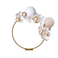 This Balloon Garland includes everything you need to make a 2 meter balloon garland that... Balloon Bouquet, Balloon Arch, Balloon Garland, Balloon Shop, Rose Gold Balloons, Tassel Garland, Backdrop Stand, Ballon, Free Gifts
