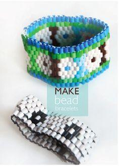 willowday: DIY Perler bead bracelets