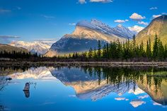 Get high on nature, Mount Rundle, Banff National Park, Alberta, Canada
