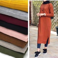 Hijab Style Dress, Modest Fashion Hijab, Casual Hijab Outfit, Fall Fashion Outfits, Muslim Fashion, Hijab Trends, Hijab Fashionista, Hijab Fashion Inspiration, Dresses