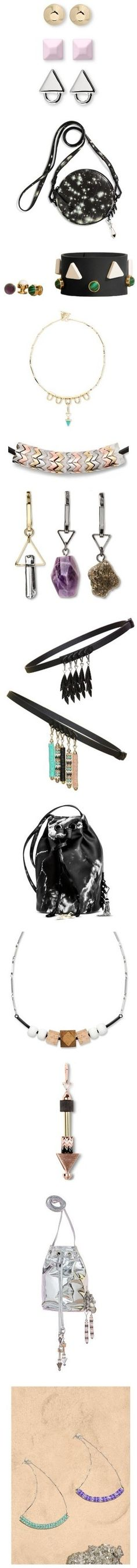 """""""Hot Accessories Collab: Eddie Borgo x Target"""" by polyvore-editorial ❤ liked on Polyvore"""