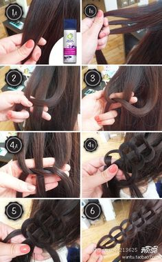 Took me a couple of tries but I got it, step three is when you put the left hand strand on top of crossed over right strand then under towards the head and through the hole on the right hand side of the middle strand. It's all about positioning the hair to make it look neat.