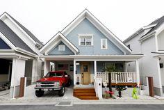 野村工務店で建てたお住まい拝見!「アーリーアメリカンの家」|大阪の新築分譲・注文住宅 野村工務店