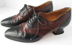 Vintage ITALIAN Leather Shoes for by myunlimitedvision on Etsy