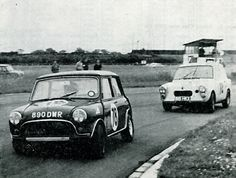 1964 , Jeff Goodliff's Vita Mini 4th at Aintree