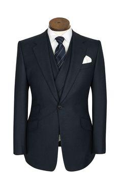 Huntsman Suits House Style | Signature Cut | One Button Suit - Huntsman Savile Row