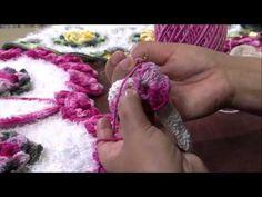 Mulher.com 28/02/2013 - Maria José - Tapete com flor Parte 4 - YouTube