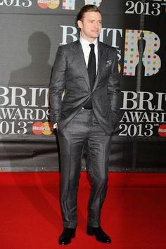 Justin Timberlake The Brit Awards 2013