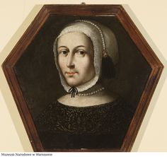Coffin portrait of an unknown woman in a white bonnet and in a dress with black lace collar by Anonymous from Masovia, (PD-art/old), Muzeum Narodowe w Warszawie (MNW) Post Mortem Photography, Eye Painting, Digital Museum, Lace Collar, Old Art, Coffin, Herb, Mona Lisa, Polish