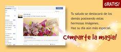 Imagenes de feliz cumpleaños para Facebook, Twitter, Google+, Saluda gratis a traves de todas las redes sociales en Correomagico.com
