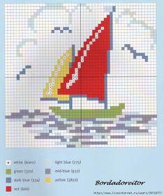 ru / Fotoğraf # 81 - Kidston C. Cross Stitch Sea, Cross Stitch Books, Beaded Cross Stitch, Cross Stitch Charts, Cross Stitch Embroidery, Cross Stitch Patterns, Needlepoint Designs, Tapestry Crochet, Knitting Charts