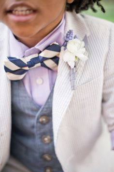 love this layered look for a ring bearer! | Harwell Photography #wedding