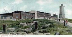 Das Brockenhotel zwischen 1890 und 1920.
