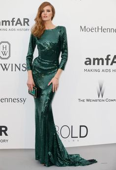 Daria Strokous. See what all the stars wore at the Cannes amfAR gala.