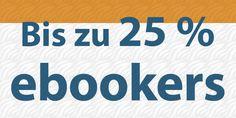 Bis zu 25 % Rabatt bei ebookers.de