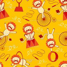 depositphotos_12864603-Cute-circus-lions-pattern.jpg (1024×1024)