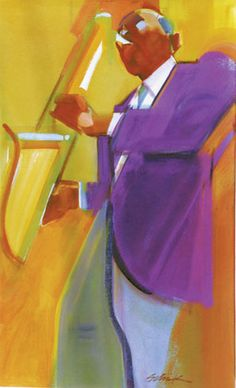 Finding A Direction by Christopher Schink, (composition) analyzing edges in your painting
