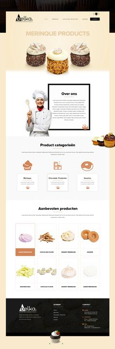 A perfect confectionery website design inspiration by 42Works. Visit http://42works.net/portfolio/ for more interesting pastry shops website inspiration, sweet shops web design, bakery website design, cupcake website inspiration, and other food website design inspiration.