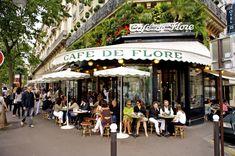 Café de Flore & Les Deux Magots - HarpersBAZAAR.com