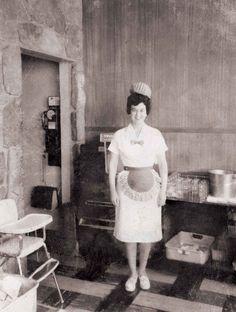 Waitress, 1950's