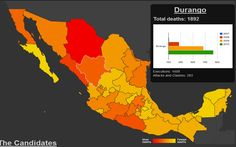 Mapping Mexico's gang violence