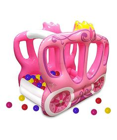 Look what I found on #zulily! Little Tikes Enchanted Princess Carriage Ball Pit by Little Tikes #zulilyfinds