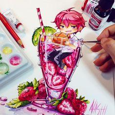 Kisumi ♡ Free! Iwatobi swimming club // Drawing