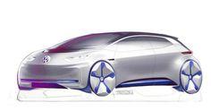 Algunos bocetos del prototipo eléctrico de Volkswagen que llegará a París # Desde hace tiempo sabemos que Volkswagen presentará un prototipo eléctrico próximamente. Ellos mismos lo han descrito como un modelo revolucionario y el evento elegido para su presentación es el Salón de París. De momentosolo hemos ... »