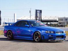 Skyline is dream car to own. Nissan Skyline Gt R, Nissan Gtr R34, R34 Gtr, Nissan Gtr Skyline, Gtr Car, Japanese Cars, Jdm Cars, Dream Cars, Domestic Disturbance