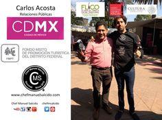 con Carlos (Relaciones Públicas Fondo Mixto de Promoción Turística de la Ciudad de México) super accesible y dejando las puertas abiertas para difundr la #cultura de la #denominacióndeorigen mexicana llamada #bacanora!!! buena vibra!!! www.chefmanuelsalcido.com !!! #chefcms #cdmx #flico #museo #coyoacan