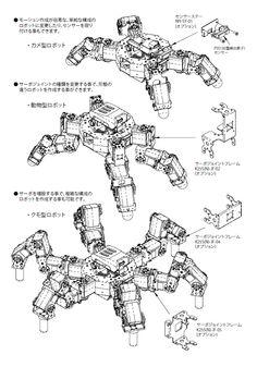 【Robot Shop Technologia】 > パーソナルロボット > ロボット拡張ユニット > H25-63N 機構組立キット