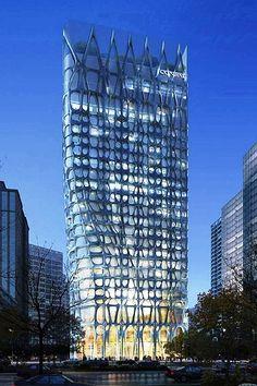 Conrad Hotel, Beijing, China~MAD Architects