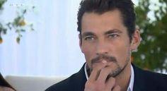 : Screenshot of David Gandy from RTL video courtesy of David Gandy Fans  Germany