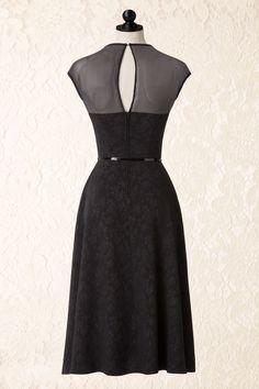 Bettie Page Clothing Black Floral Swing Dance Dress 102 10 17233 20151008 014pop5