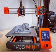 Lion printed by simdev82 #prusamini #toysandgames