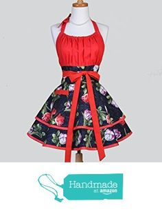 Black and Red Elegant Tulip Floral Retro Womens Flirty Full Kitchen Apron from CreativeChics https://www.amazon.com/gp/product/B01GQBQ230/ref=as_li_qf_sp_asin_il_tl?ie=UTF8&tag=rockaclothsto-20&camp=1789&creative=9325&linkCode=as2&creativeASIN=B01GQBQ230&linkId=aeccd60e085400b1a59c743a7af67518